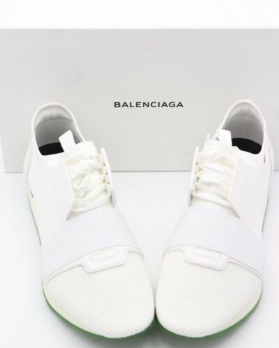 Hvitgrønn Løpere Sko Ny Race 13 Balenciaga 46 Sneakers Herrer Nib IxAPgwE