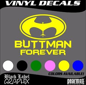 Image Is Loading Buttman Forever Funny Jdm Import Vinyl Decal Sticker