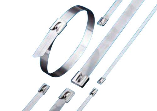 "14/"" Stainless Steel 304 Self-Locking Cable Ties 1,000ea"