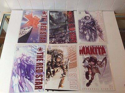 2 #1-5 Nm Complete Series Archangel/crossgen Plus Annual The Red Star Vol Modern Age (1992-now)