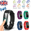 thumbnail 1 - Sports Fitness Tracker Watch Heart Rate Blood Pleasure Activity Monitor Fitbit