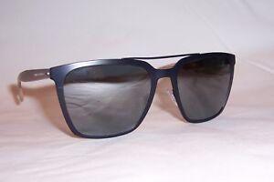 ded9c3c4e9 NEW HUGO BOSS Sunglasses 0905 F S 0S4-T4 BLUE BLACK MIRROR POLARIZED ...