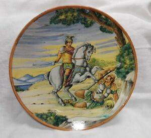 Piatto-in-ceramica-istoriato-del-039-900-diametro-cm-40-Antikidea