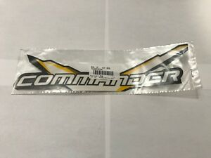 CAN-AM-COMMANDER-034-COMMANDER-034-DECAL-STICKER-BLACK-WHITE-YELLOW-704903006