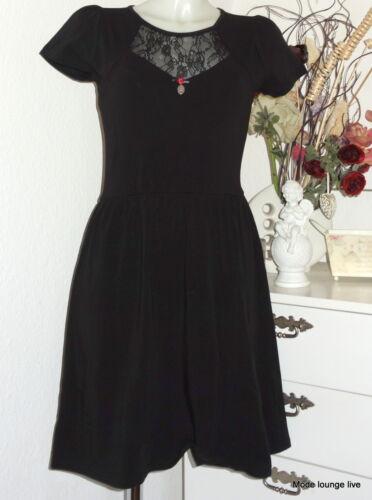 Lace Negro Vive Maria 313632 Black Romántico Vestido Eden Yxqaw4vq