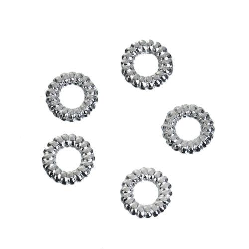 Geschlossen 1000x Binderinge 5mm Silberfarben Schmuck Basteln Verbinder D