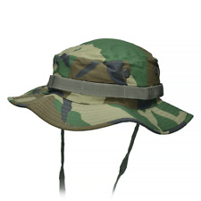 Army Tactical Jungle Boonie Bush Hat Bushcraft Hiking Travel Woodland Camo S-XXL