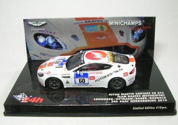 Aston Martin Vantage V8 V8 V8 Gt4 N°60 24h ADAC Nürburgring 2010 0c995b