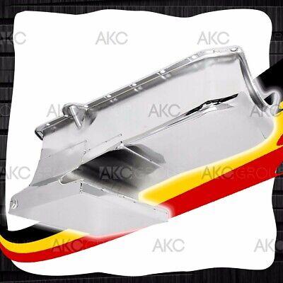 Black 6QT Drag Racing Oil Pan For 62-67 Chevy II Nova 86-02 SBC 283-400 V8