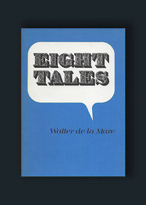 Eight-Tales-Walter-De-La-Mare-Arkham-House-HC-1st-Limited-Edition-Book