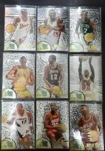 95-96-Fleer-Metal-cards-Silver-Spotlight-commons-50-pesos-each