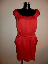 """robe Comptoir des Cotonniers""""imoon"""",taille 38fr, rouge, authentique"""