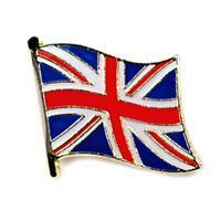 British Flag Lapel Pin 0.5 Uk Great Britain England Union Jack Pinback Tie Hat