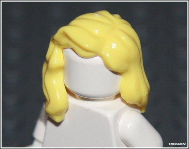 Lego Batman x1 Yellow Blonde Over Shoulder Hair City Girl Female Minifigure NEW
