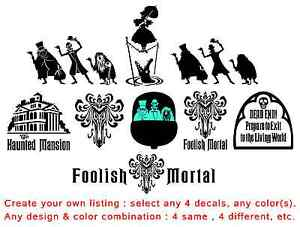image is loading create your own haunted mansion decal listing 4