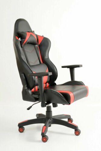 Sedia poltrona gaming reclinabile ufficio computer gioco ...