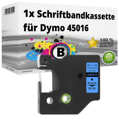 LOT Kompatibel Dymo LabelManager LabelPoint Etikettenbänder 6mm 9mm 12mm 19mm
