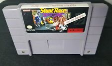 Stunt Race FX ~ NOT FOR RESALE NFR KIOSK CART ~ Super Nintendo SNES - CLEAN