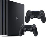 Sony PlayStation 4 Pro 1TB Gaming Console + Extra Controller