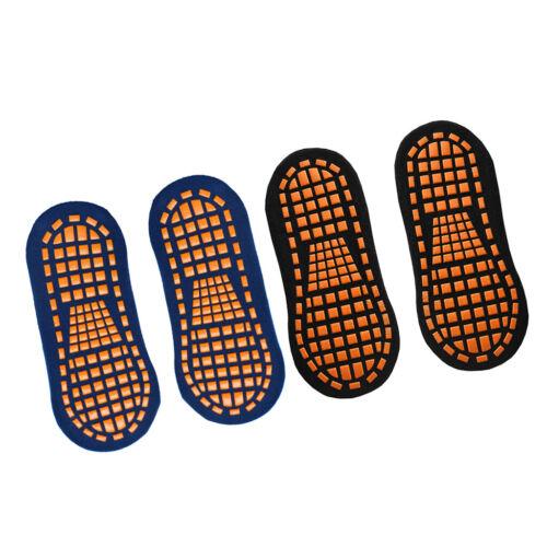 ABS Socken Anti-Rutsch-Socken, Noppensocken 2 Paar Stoppersocken