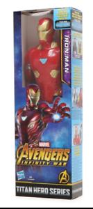 "Marvel Avengers Infinity War Titan Hero Series Iron Man 12"" Figure"