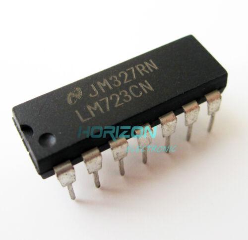 50PCS LM723CN LM723 DIP-14 IC Adjustable Voltage Regulator 2-37V new
