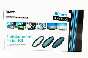 Kit-3-filtros-Vivitar-52mm-UV-CPL-ND8-para-Sony-Canon-Nikon-Tamron-Pentax-Sigma