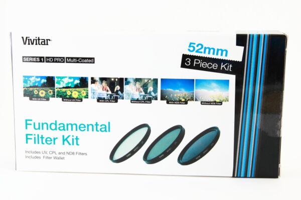 Acheter Pas Cher Kit 3 Filtros Vivitar 52mm Uv Cpl Nd8 Para Sony Canon Nikon Tamron Pentax Sigma Voulez-Vous Acheter Des Produits Autochtones Chinois?