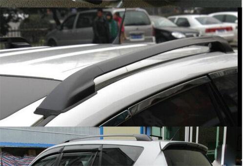 Aluminum Roof Rails Rack Luggage Carrier Bars Trim for Toyota Rav4 2006-2012