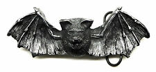 Vampire Bat Belt Buckle Skull Themed Gothic 3D Heavy Authentic Pagan Product