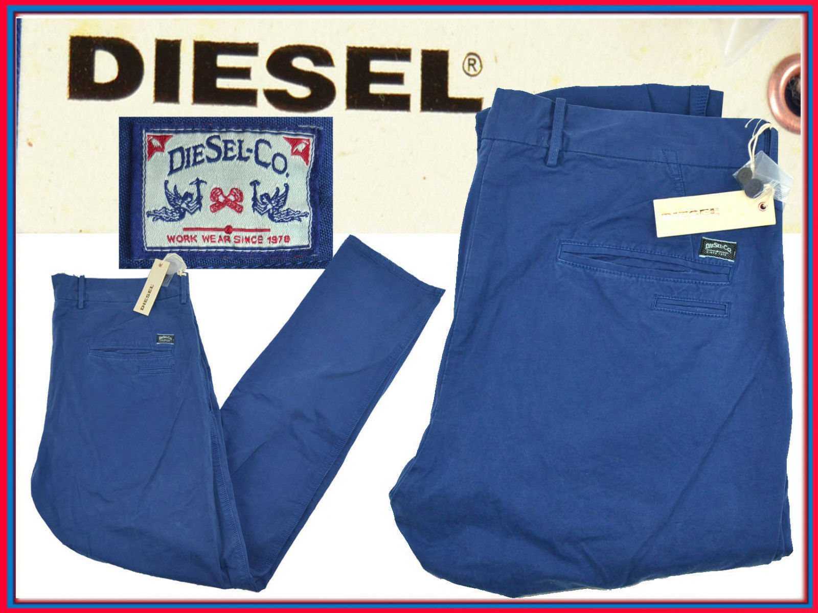 DIESEL Trouser Man 34 US   54  . In Shop . Here for less  DI08 L-2