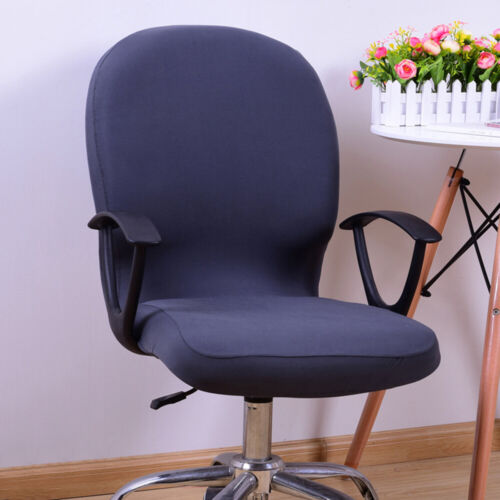 Elastic Chair Covers Rotating Stretch Office Soft Desk Seat Chair Slipcover Soft