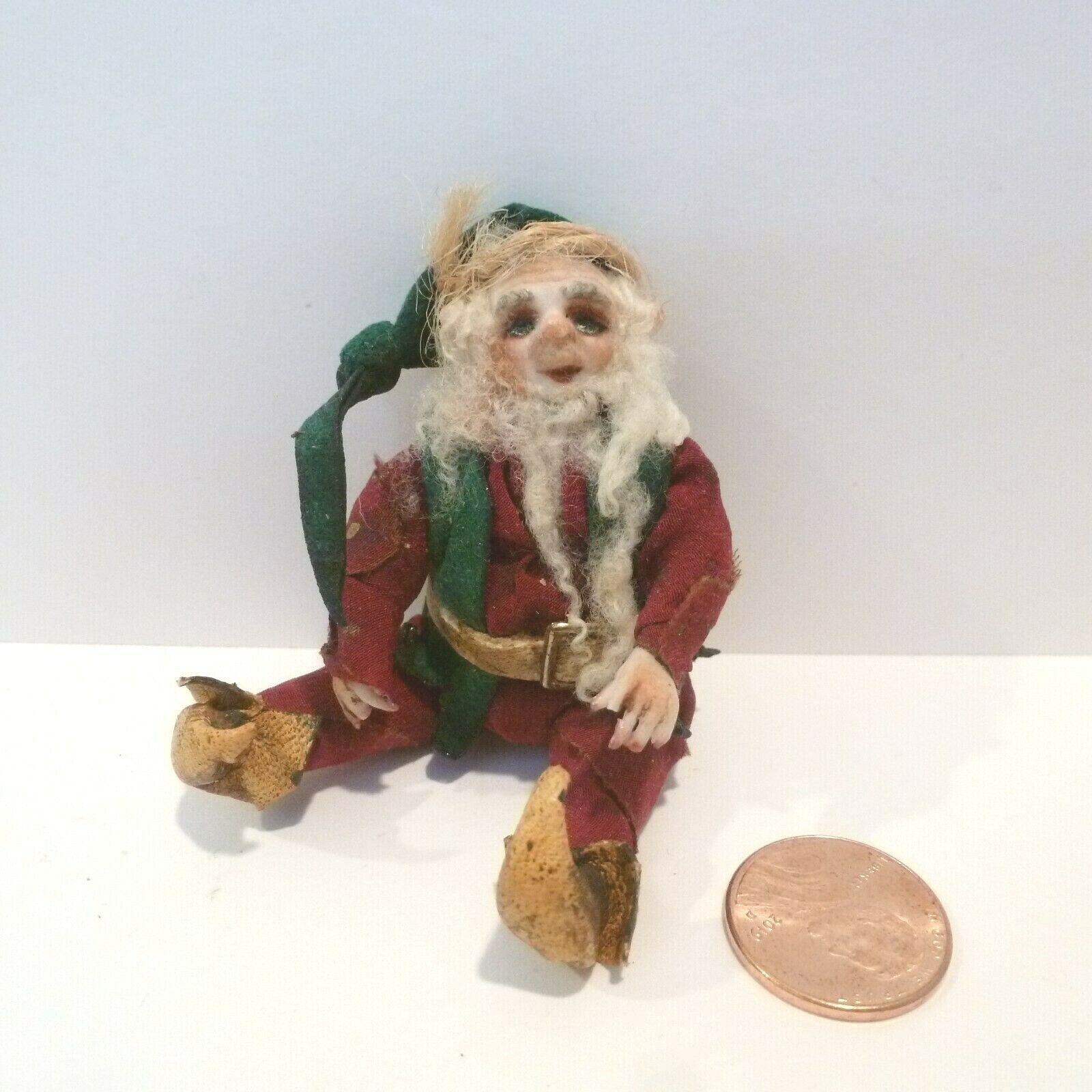 Helen Hartzell Miniatura Muñeca Woodsy Elf excepcional