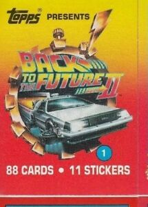 BACK-TO-THE-FUTURE-II-BASE-BASIC-CARDS-OR-STICKERS-CHOOSE-BY-TOPPS-1989