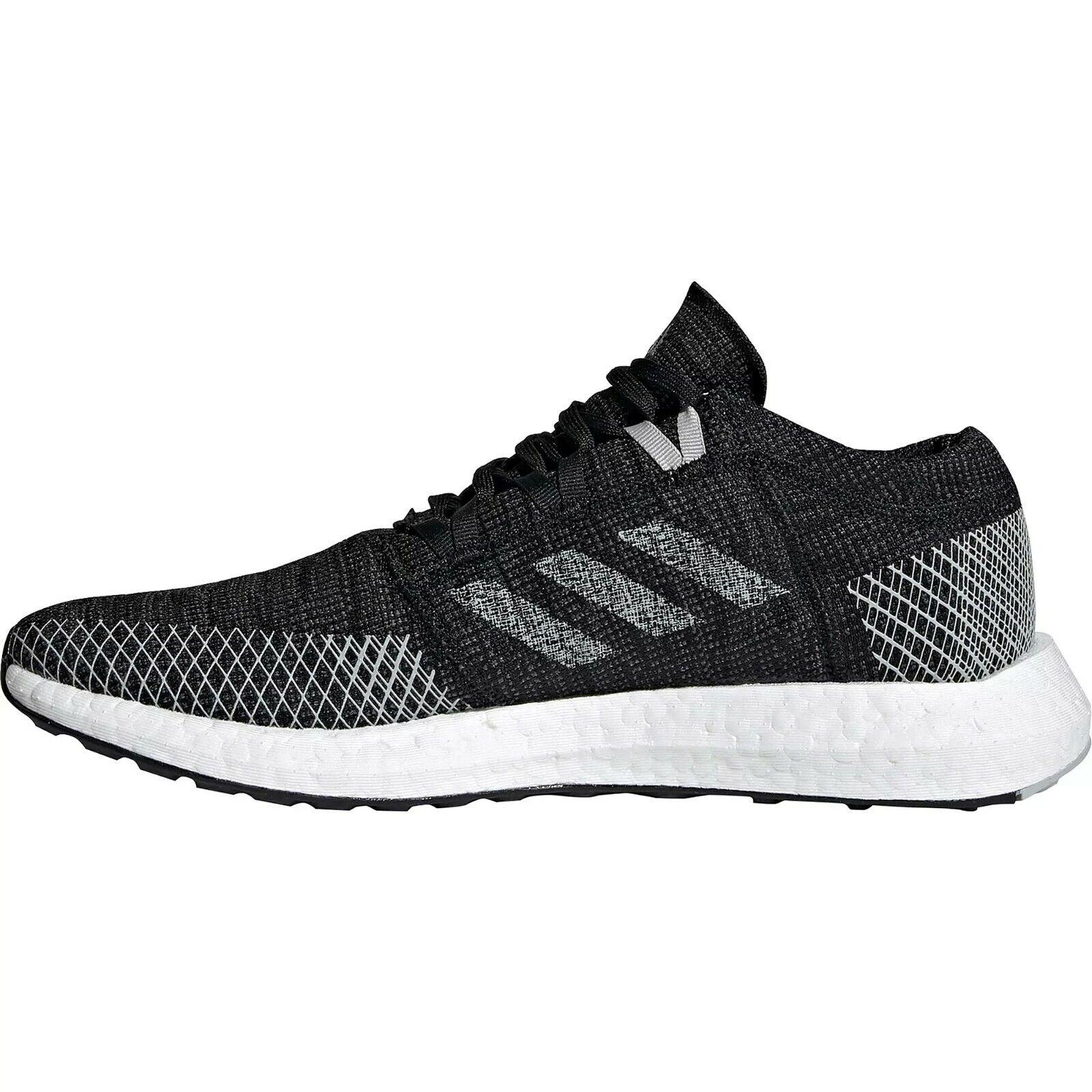 Adidas PureBOOST GO, Herren Laufschuhe/Sneaker, schwarz, Größe: 43 1/3, NEU
