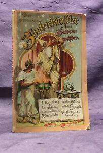 Ortleb-el-prestidigitadores-hechicero-para-1900-magia-brujeria-libro-infantil-arte-js
