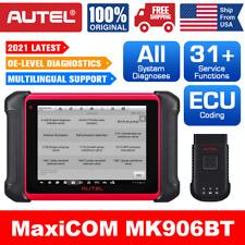 Autel Maxicom Mk906bt Obd2 Eobd Car Diagnostic Scanner Tool Key Ecu Coding Tpms