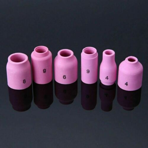 40 X Welders Torch Stubby Gas Lens Pyrex Glass Cup Kit For Tig WP-17 18 26 Parts
