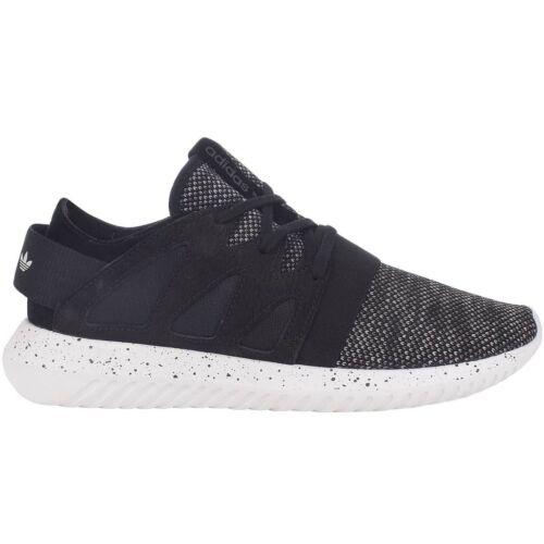 Adidas Originales Para Mujer Tubular viral con cordones Casual Zapatillas Sneakers-Negro