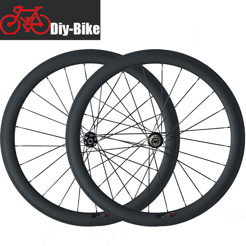 700C 50mm Clincher Disc Brake Cyclocross Bike Bike Bike Wheels Disc Wheel Carbon Wheelset d4d1d9