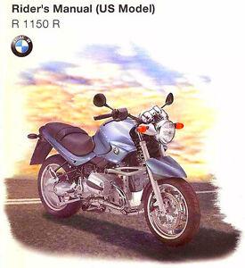 2001 bmw r1150r rockster motorcycle owners riders manual bmw r 1150 rh ebay co uk bmw r1150 service manual bmw r1150r repair manual