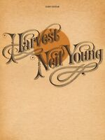 Neil Young Harvest Sheet Music Easy Guitar Book 000119133