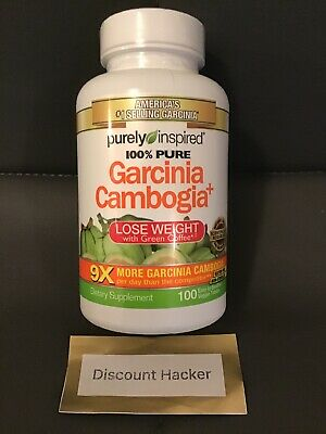 Purely Inspired Garcinia Cambogia Plus Green Coffee Tablets 100
