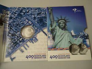 NIEDERLANDE 2009 - 5 Euro in Silber, PP im Blister - MANHATTAN