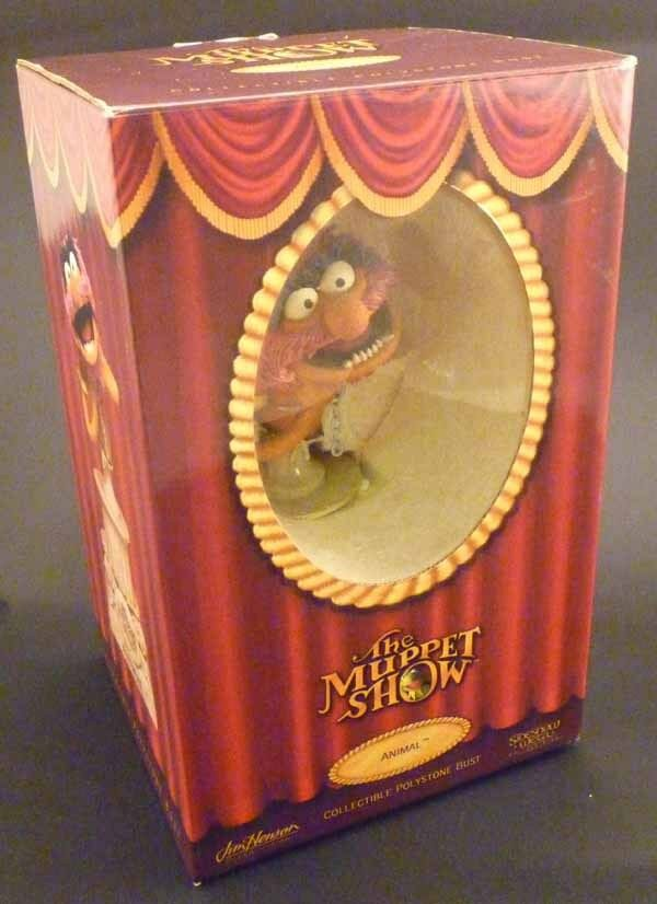 Sideshow THE MUPPETS polystone bust ANIMAL statue boxed  736/3000