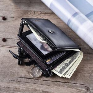 2020-Men-Wallet-Coin-Purse-Carteira-Casual-Hasp-Solid-Double-Short-Card-Holder