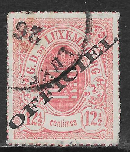 Luxembourg stamps 1875 MI Service 4I CANC VF