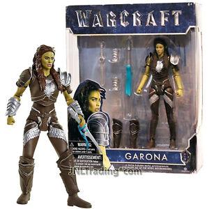 Year 2016 Warcraft Movie Series 6 Inch Tall Figure Garona With