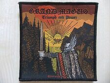 Aufnäher - Patch - Grand Magus - Triumph & Power - The Gates of Slumber - Argus