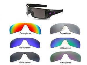 replacement lenses for oakley batwolf sunglasses  image is loading galaxy replacement lenses for oakley batwolf sunglasses multi